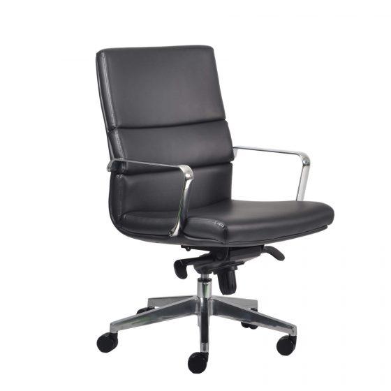 Director | Medium back ergonomic executive chair with arms aluminium base