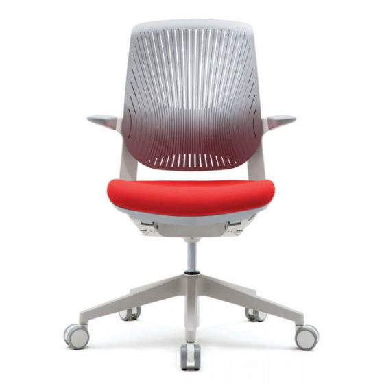 Fursys T25 Flight | ergonomic chair white