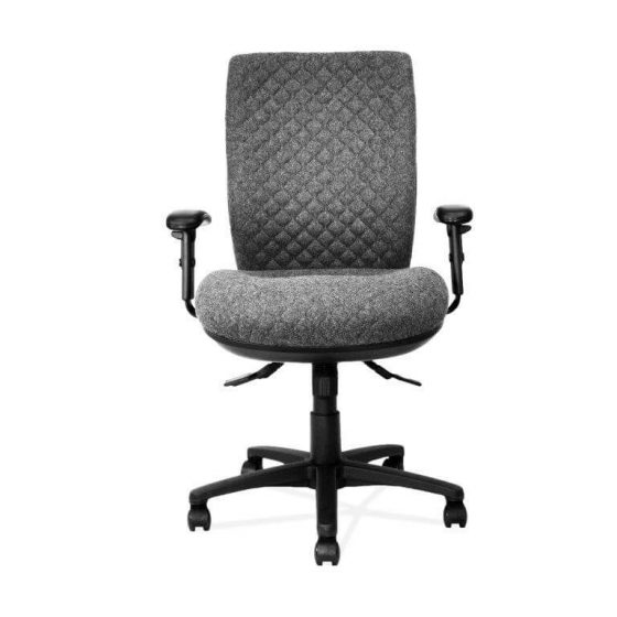 Lyra | High back ergonomic task chair quilt stitch galaxy seat