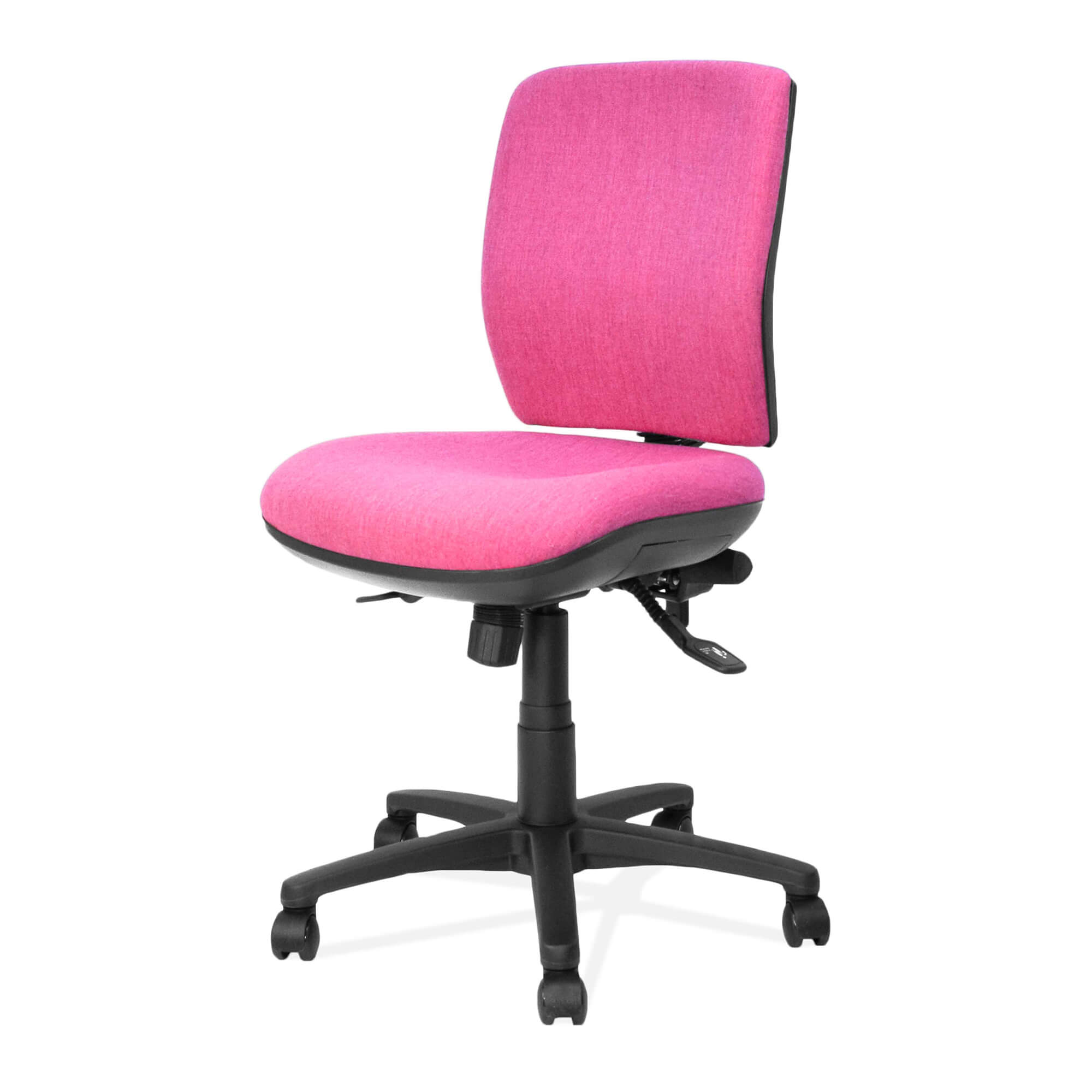 Lyra | medium back ergonomic task chair side view