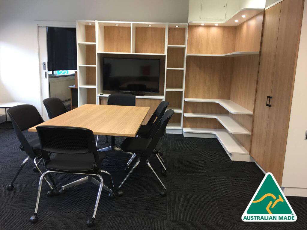 Built in joinery Executive office