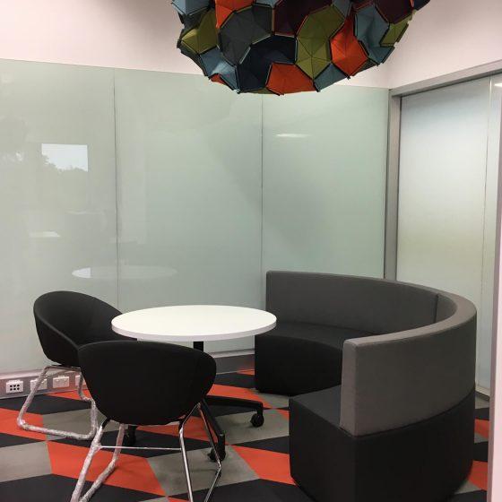 Furniture Fitout, Concave collaborative lounge Giro Tub Chair (1)