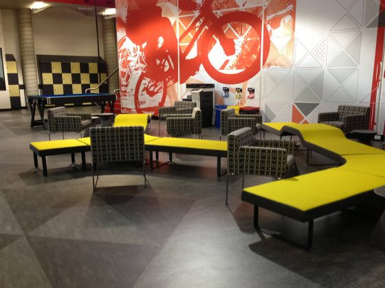 Education, Highway Lounges – Student lounge spaces, Federation University Segis Highway Lounges custom lockers