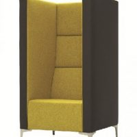Highline collaborative lounge single seater privacy