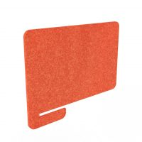 Hush Acoustic DIVI screen privacy side screen orange