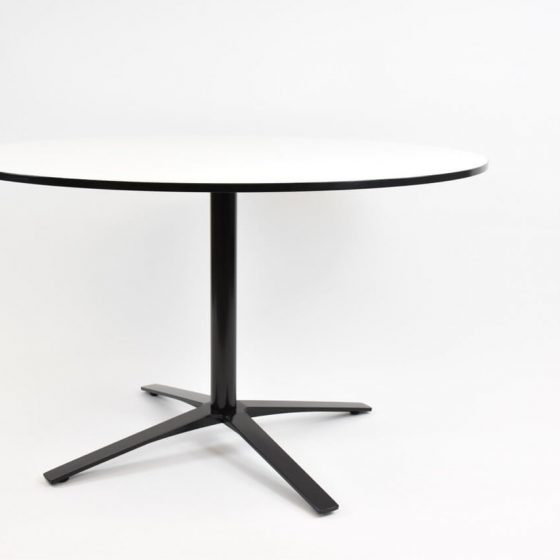 Tables, Commercial Furniture Products, Mason 4 way table base powdercoated