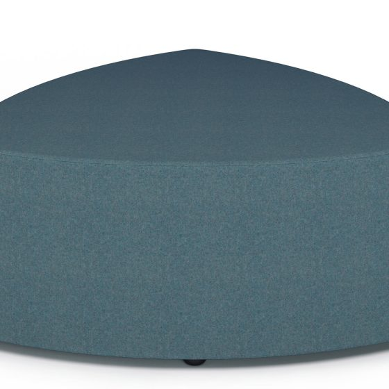 Pebble ottoman 1200 education seating commercial furniture