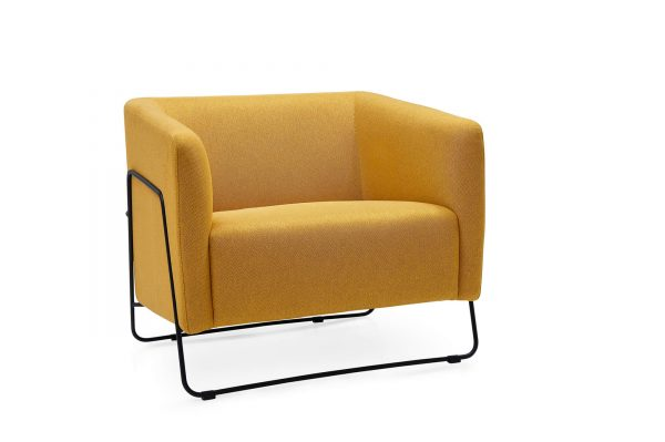 Zames single seater sofa lounge chair commercial furniture