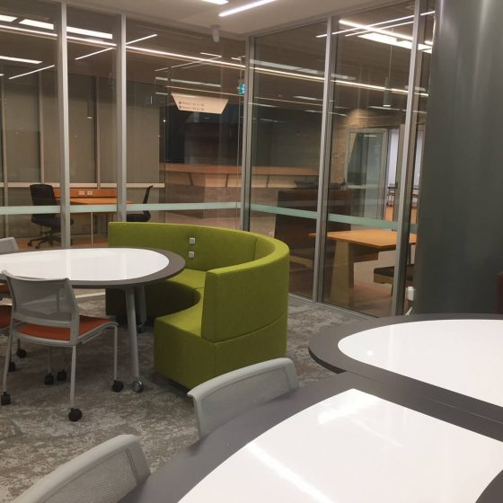custom Furniture fitout collaborative convex concave lounges built in power (3)