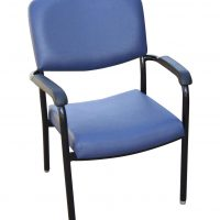 Commercial Furniture Products, Bariatric Chair 500mm wide seat with arms healthcare seating