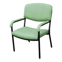 Bariatric Chair 700mm wide adjustable height legs healthcare seating
