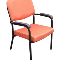 Bariatric Chair with arms 500mm w orange healthcare seating