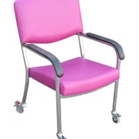 Bariatric Push Chair with traveller wheels arms