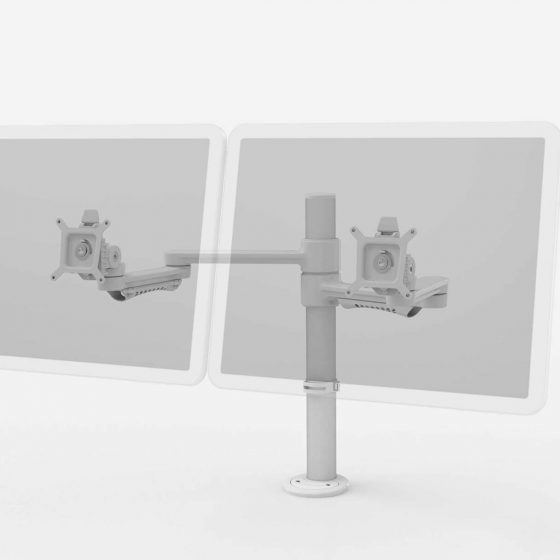 Workstations, C ME Double Monitor Arm workstations