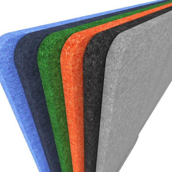 Hush Acoustic materials colour range