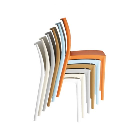 Maya chair stack outdoor hospitality furniture