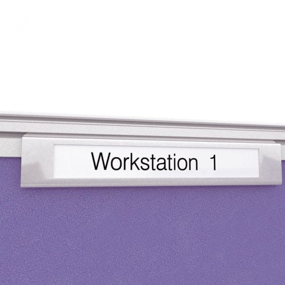 Name Plate Holder desk screen accessories