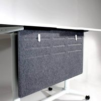 Commercial Furniture Products, PET Pressed Modesty Panel 580x1180