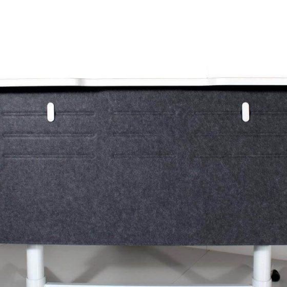 PET Pressed Modesty Panel 580x1180