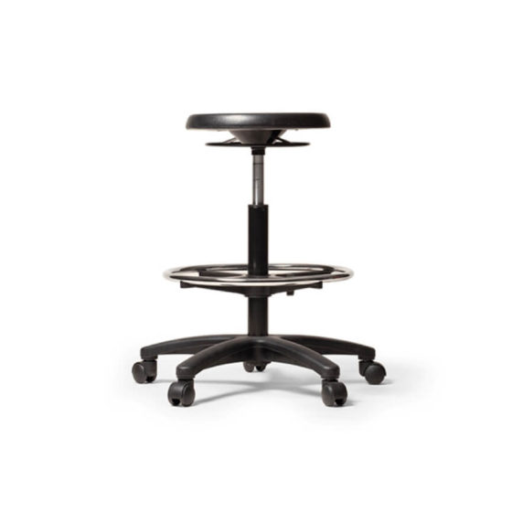 PU Industrial Drafting Stool
