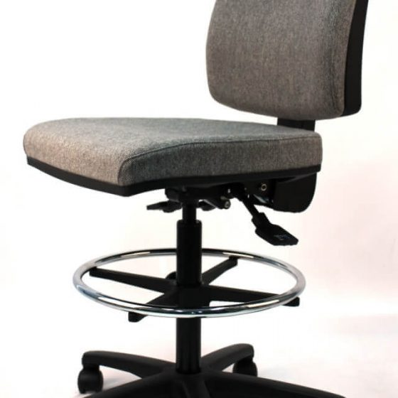 Leo drafting chair ergonomic task chair