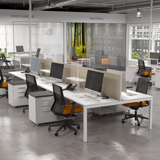 Axis desk studio screen caddy sync task chair olg
