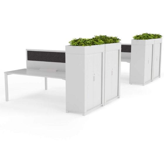 Axis desk studio screen tambour planter box olg
