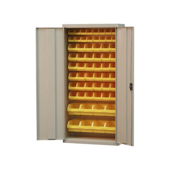 Bin Cabinet with bins general office storage