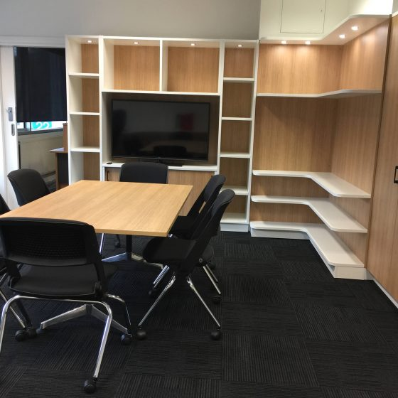 Commercial Furniture Products, Built in joinery Executive office