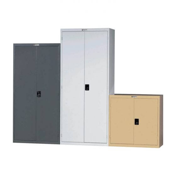 Cabinet various sizes lockable general office storage