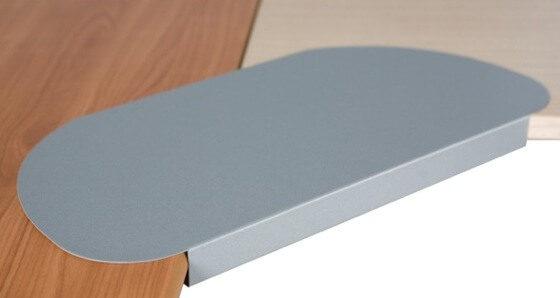 Desk Lozenge corner workstation accessories