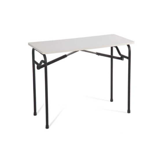 EXAM table upright folding table
