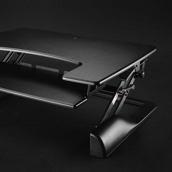 Ergovida gas desk mount height adjustable black
