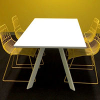 Inspire Meeting Table Yellow