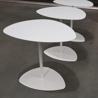 Tables, Lily laptop table white