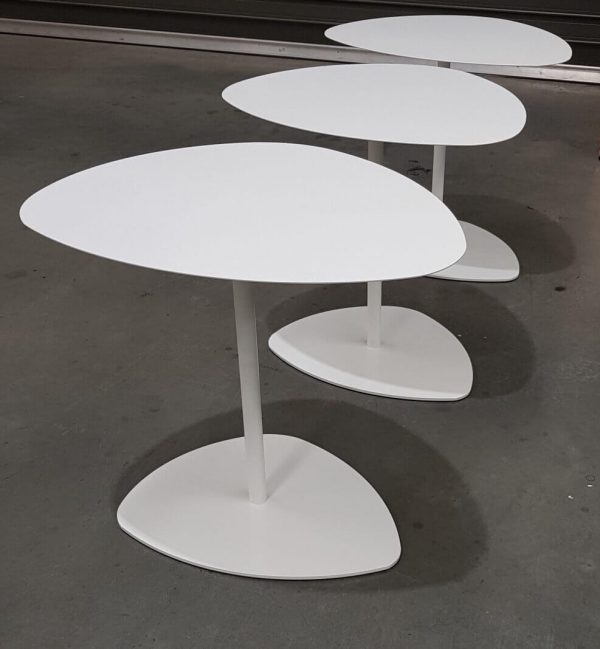 Lily laptop table white