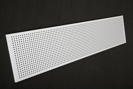 Modesty panel perforated workstation accessories_flat