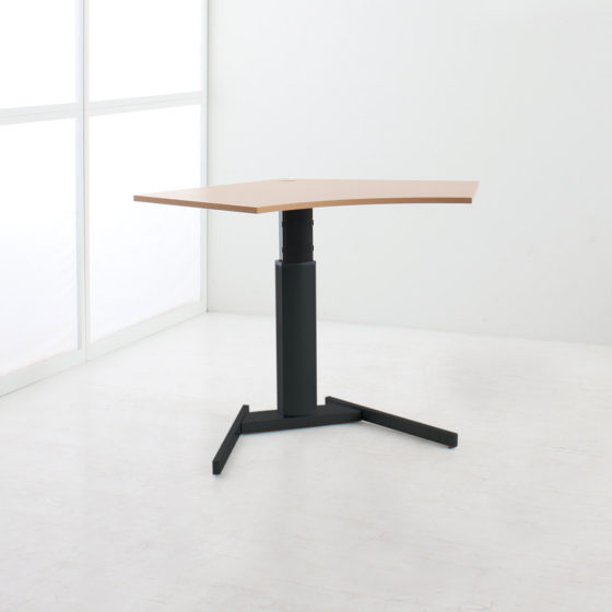 Modular 501 19 height adjustable desk 095 base black