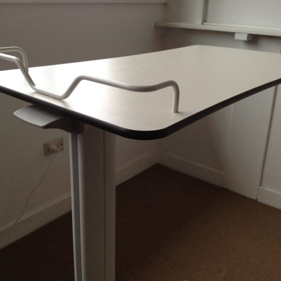 Overbed table frame healthcare