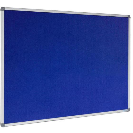 Visionchart blue pinboard standard frame
