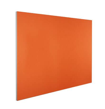 Visionchart pinboard Edge LX7000 aluminium frame orange