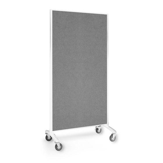 Visionchart room divider grey