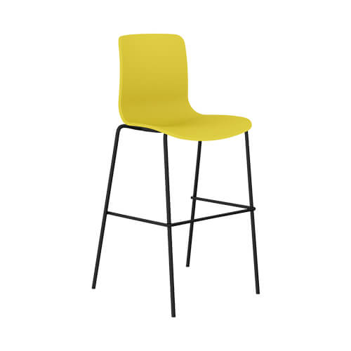 Acti stool yellow black