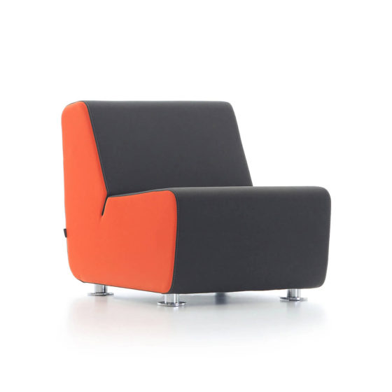 Aura single seater sofa collaborative