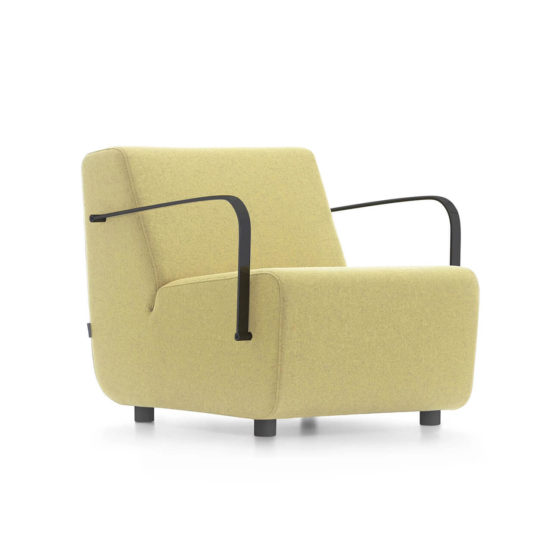Aura single seater sofa with arms collaborative