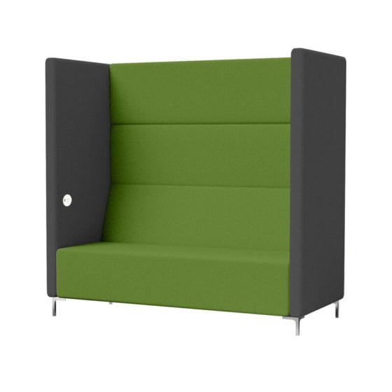 Eva booth seating acoustic escape highback