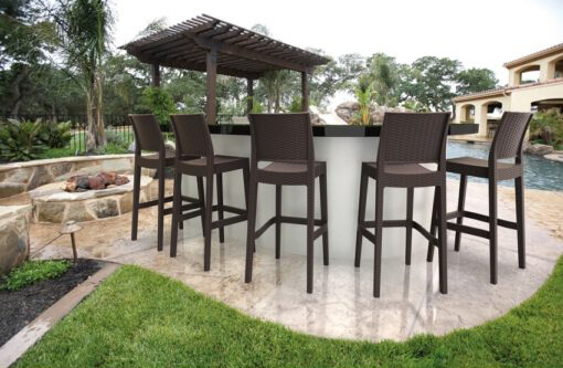 Jamaica barstool outdoor bar furniture
