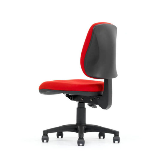 Magnum medium back ergonomic task chair rear angle