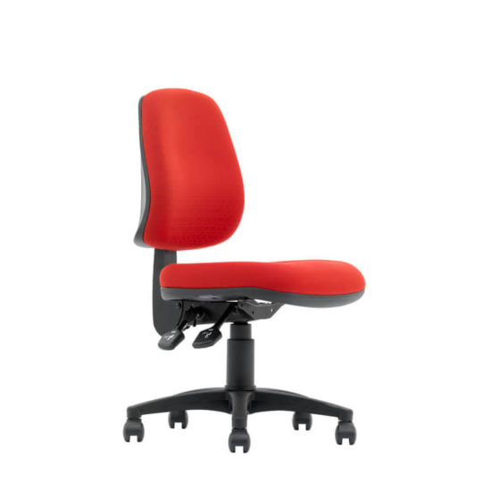 Magnum medium back ergonomic task chair side angle