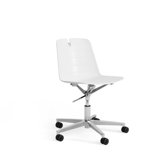 Mindy plastic visitor chair meeting office chair task chair